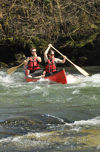 Canoë-Kayak sur la Loue
